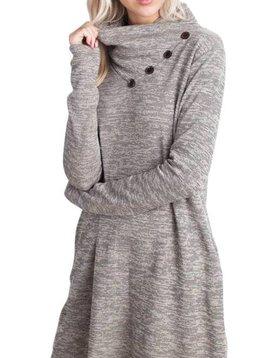 Tamara Cowl Dress