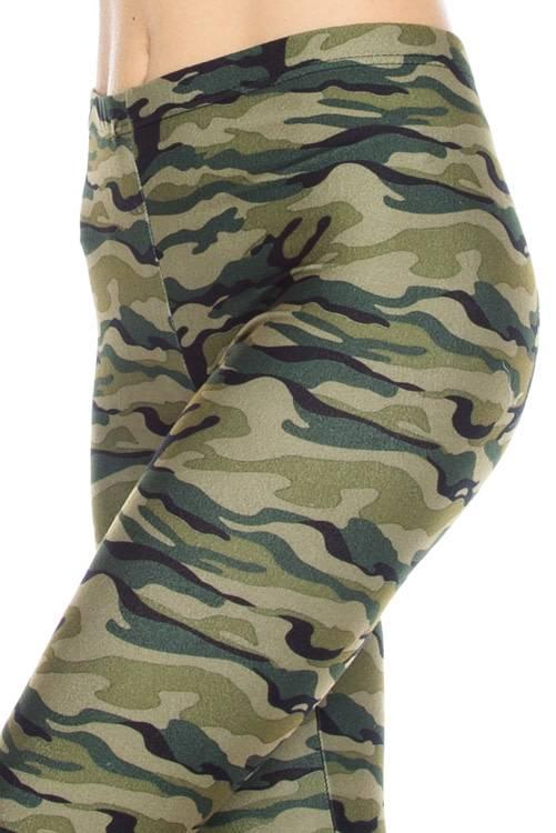 Camo Print Legging Curvy