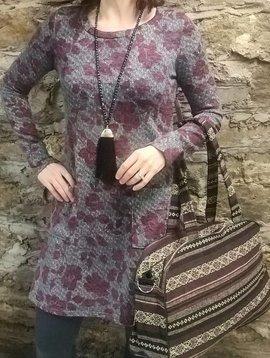 Merlot Pocket Dress