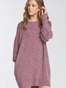 Chantelle Burgundy Dress