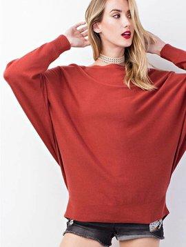 Scarlet Dolman Sweater
