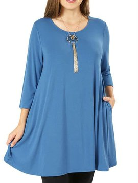 Blue Mist Dress Curvy