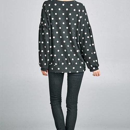 Doting Dots Sweatshirt