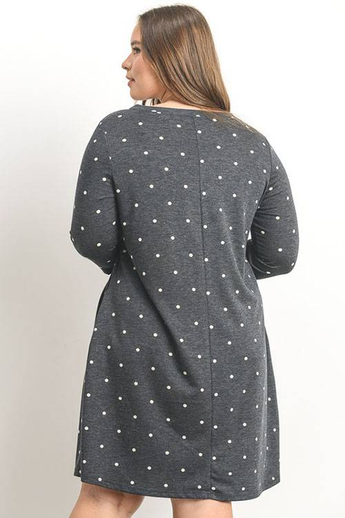 All About Dots Curvy Dress