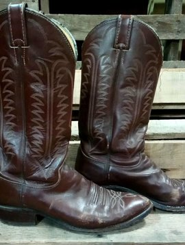 Justin Brown Boots sz. 8