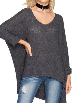 Brooklyn High Low Sweater