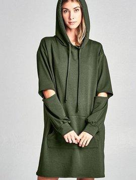 Hoodie Sweatshirt Dress