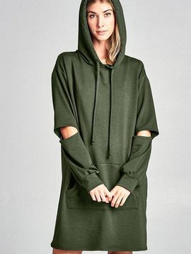 Monica Hoodie Dress