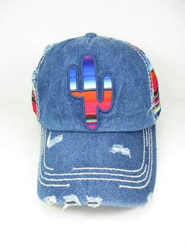 Colorful Southwestern Cactus Hat