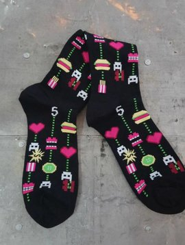 Gamer Food Crew Socks