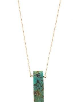 Amazonite Pendant Necklace