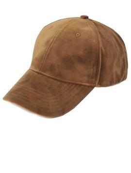 Faux Suede Tan Hat