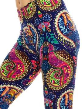 Paisley Boho Legging