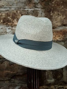 Gray Panama Hat