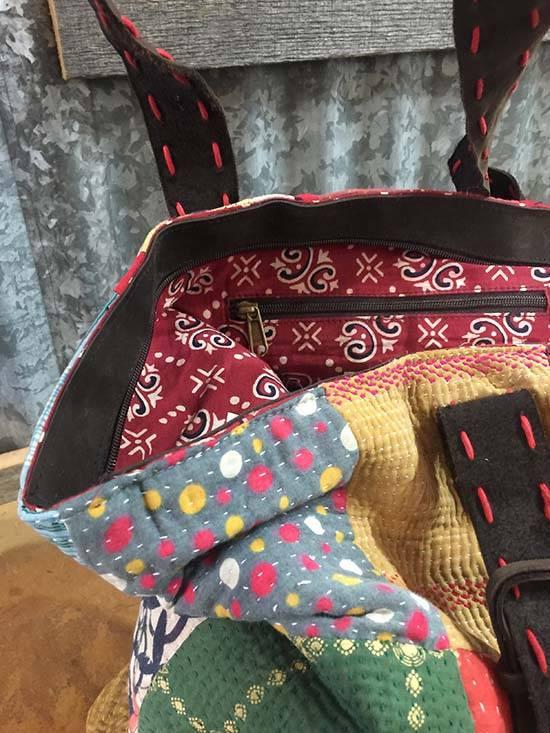 Kantha Tote Bag