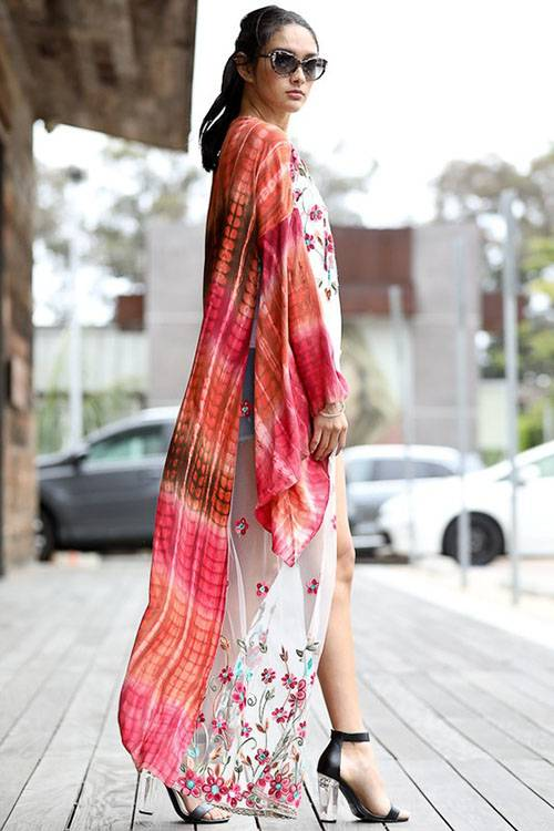 Free Spirit Embroidered Duster