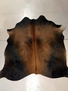 Black + Brown Cowhide 2234
