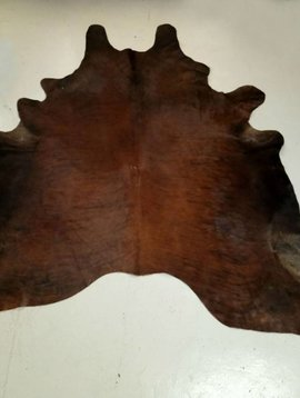 Red + Brown Cowhide 2262