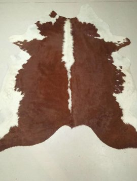 Red + White Cowhide 2255