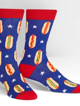 Foot Long Crew Socks