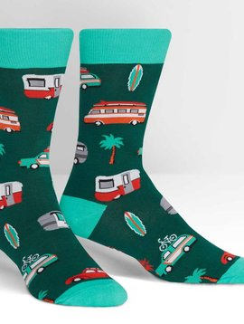 Day Tripper Crew Socks