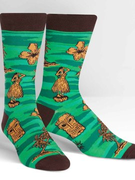 Tiki Toes Crew Socks