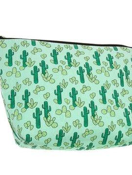 Cactus Zipper Pouch Medium