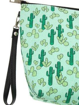 Cactus Zipper Pouch Large
