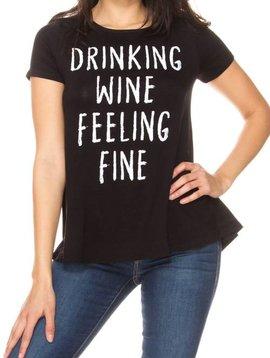 Drinking Wine Feeling Fine Top