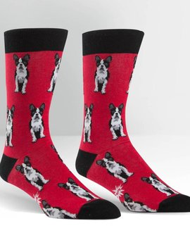 Boston Terrier Crew Socks