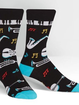 All That Jazz Crew Socks