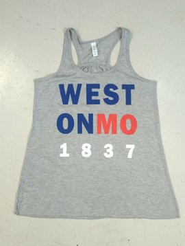 Patriotic Weston Ladies Tank Top