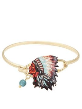 Chief Wire Bracelet Gold
