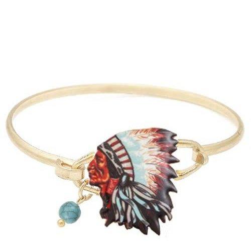 Chief Wire Bracelet Gold