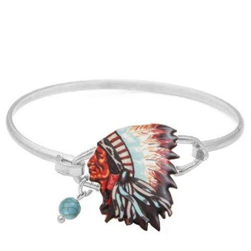 Chief Wire Bracelet Silver