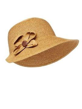 Natural Cloche Sun Hat