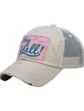 Hey Y'all Trucker Ball Cap