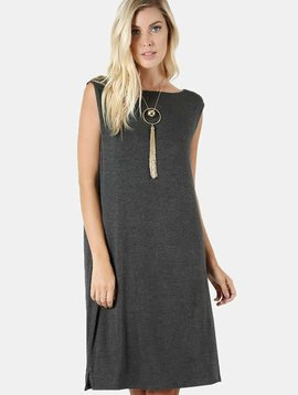 Solid Tank Dress