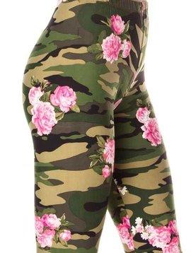 Floral Camo Legging