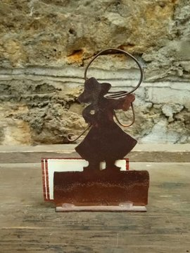 Cowgirl Business Card Holder