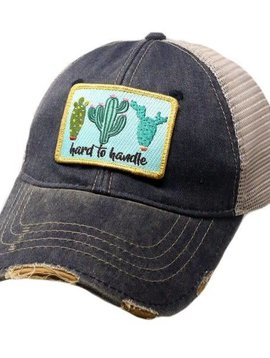 Hard to Handle Patch Ball Cap