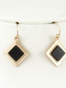 Square Stone Earring