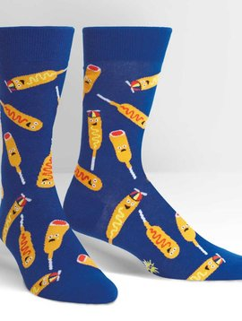 You're So Corny Crew Socks