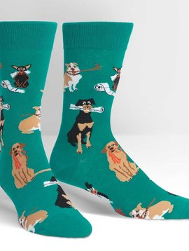 Chew on This Crew Socks