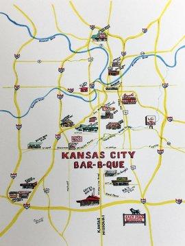 KC Bar-B-Que Map