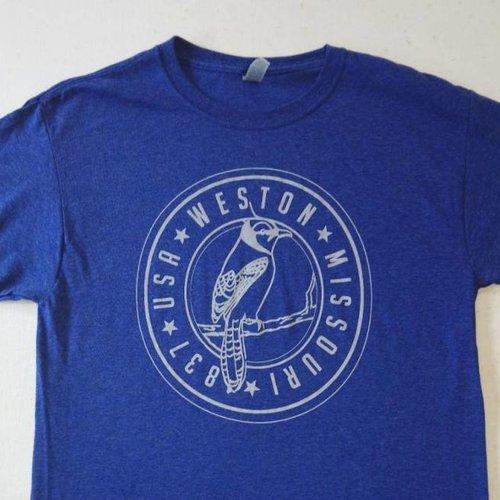 Weston, MO Blue Jays Tshirt