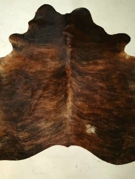 Dark Brindle Cowhide 2366