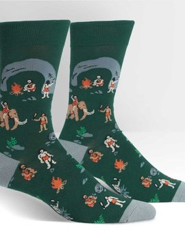 Man Cave Crew Socks