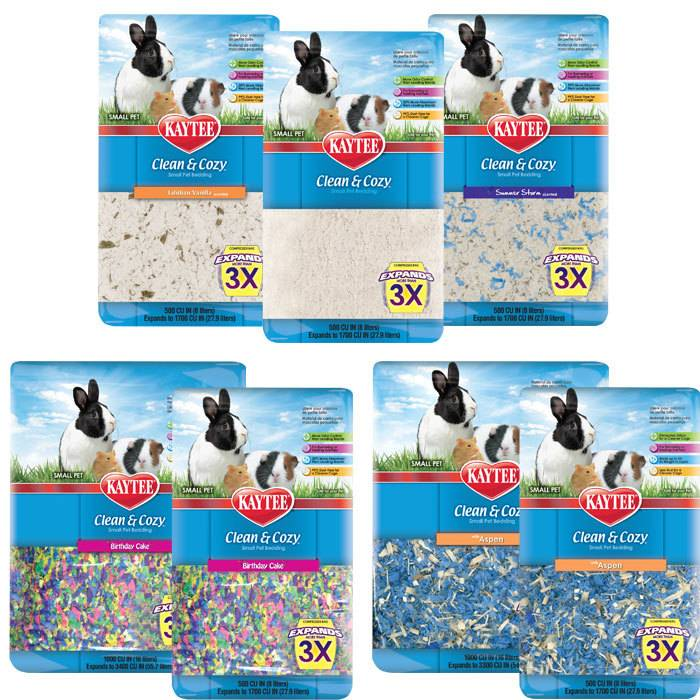 kaytee kaytee clean & cozy small pet bedding - fields petcare