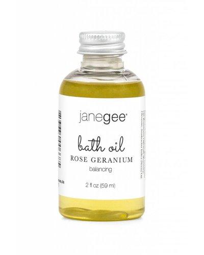 janegee Rose Geranium Bath Oil